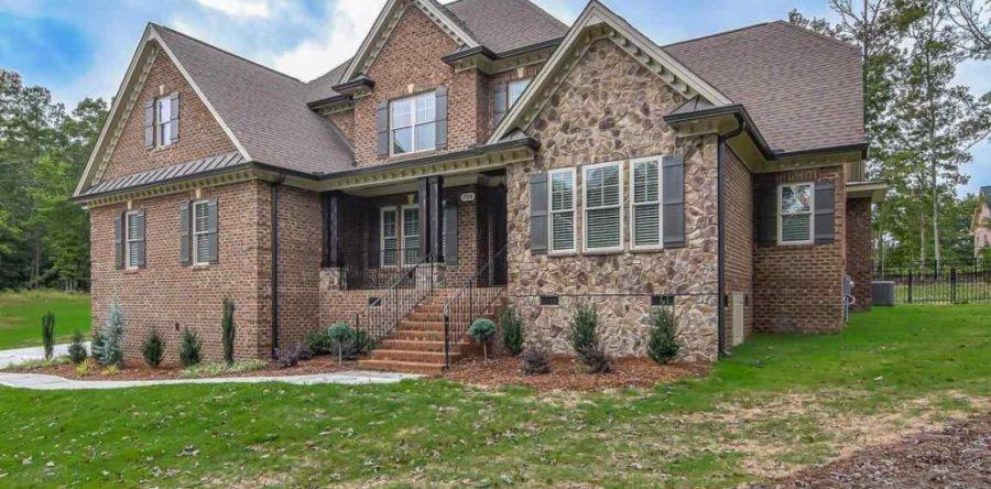Custom Built Home in Clayton North Carolina